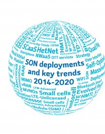 SON Deployments and key trends word globe