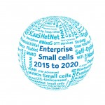 Word globe from the enterprise small cell market forecast