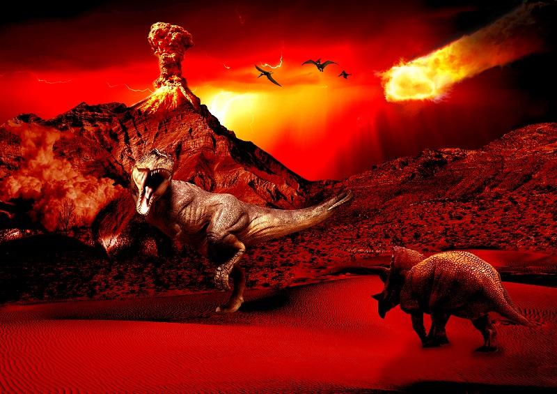 Dinosaur-Illustration medium